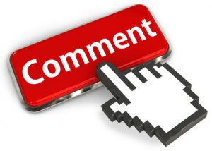 Comment button and hand cursor