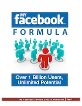 My Facebook Formula - free ebook from eReleases