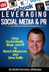 Leveraging Social Media & PR - free eBook from eReleases