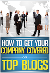 free eBook from eReleases - How to Get Your Company Covered on Top Blogs